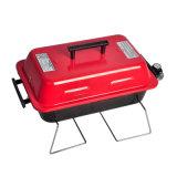 빨간 소형 휴대용 실내 바베큐 옥외 BBQ 가스 석쇠