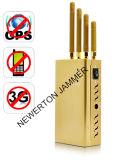 Leistungsfähiger goldener beweglicher Mobiltelefon-Signal-Hemmer GPS-Hemmer