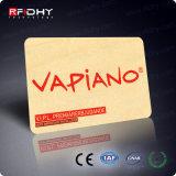 Cartão Exótico do Madeira de RFID/o de Bambu com Gravura Tomada o Partido Dobro para Convites