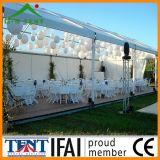 Baldacchino trasparente della tenda della tenda foranea di evento di cerimonia nuziale di festival tradizionale