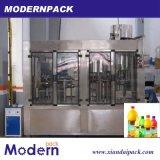 4 automatiques dans 1 chaîne de production de remplissage à chaud