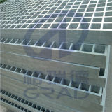 Fiber Glassのガラス繊維Solid Grille Tree Protection FRP Grating Made