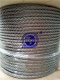 Corda de fio 316 1X19-3.2mm do aço inoxidável