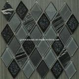 Плитка стильного хруста льда диаманта 2016 керамическая & стеклянная мозаики (OYT-S03)