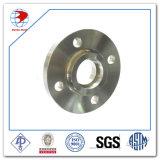 Borde RF del interruptor del acero inoxidable ASTM A182 F317h 300 libras 4 borde soldado socket del ANSI B16.5 de Sch Std de la pulgada