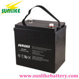 A bateria profunda solar 6V200ah do ciclo livra a manutenção com garantia 3years