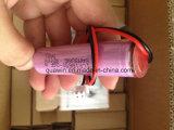 Bloco da bateria de íon de lítio de Icr18650-26f 3.7V 4.2V 2600mAh 18650