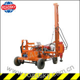 Autoroute urbaine Metal Guardrail Hydraulic Pile Driving Machine pour Post Installation