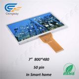 """7 """" 50 schermo di tocco della visualizzazione dell'affissione a cristalli liquidi di Pin 800*480"""