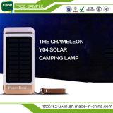 Miniheraus Tür-Sonnenenergie-Bank mit LED-Licht