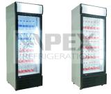 Refrigerador vertical de la bebida de la sola puerta para la cerveza y otras bebidas no alcohólicas