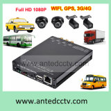 SD Card SlotおよびGPSのHD 1080P 4 Channel School Bus DVR