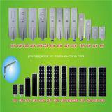 Luz de calle solar integrada alta calidad de 2016 50W LED con la batería y el panel solar (JINSHANG SOLARES)