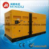 Conjunto de generador diesel silencioso de la alta calidad 200kVA Weichai