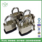 40mm Wide Nickel Plating Laminated Steel Padlock (740N)