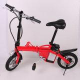 Bicyclette électrique pliable en gros de vélo avec la batterie de Removeale