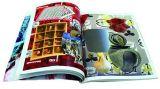 Impression gravante en relief de livre de cuisine de livre À couverture dure de modèle simple