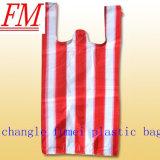 Цветастая пластичная хозяйственная сумка HDPE