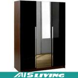 Quarto dobro da mobília do projeto do armário do Wardrobe da cor (AIS-W028)