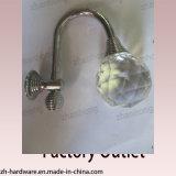Окно сплава цинка красивейшие/крюк занавеса с кристаллом цвета (ZH-2074)