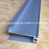 Perfil de aluminio anodizado alta calidad para el guardarropa