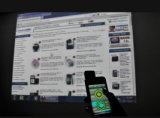 presentador de múltiples funciones sin hilos 2.4G con el ratón electrónico para el iPhone