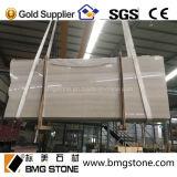 Hölzerne Marmorsahneplatten u. Fliesen, China-Beigen-Marmor