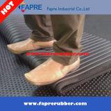 Plancher en caoutchouc stable de couvre-tapis stable de vache inférieure à cannelure/cheval inférieur de cannelure