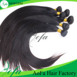 인도 인간적인 자연적인 Virgin 머리는 머리 가발을 나 끈으로 엮는다
