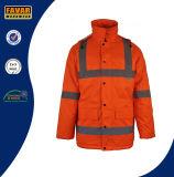 Breathable водоустойчивая высокая куртка зимы видимости