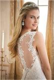 2016 Vestido de noiva de noiva com noiva de venda quente, personalizado