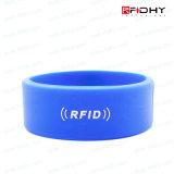 前払いされたNFC無接触RFIDのシリコーンのリスト・ストラップのブレスレットの時計バンドの札