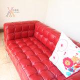 Sofà di cuoio moderno rosso (A1108-C)