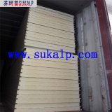 Costomized PU Sandwich Panel para Habitación Fría