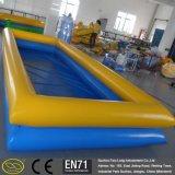 0.6~0.9mm PVC娯楽膨脹可能な正方形のプール