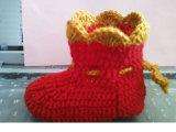 Calzini Crocheting Handmade del bambino, calze