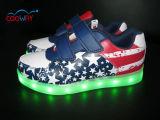 Recentste LEIDENE van de Schoenen van de Manier Lichte Tennisschoenen, Opvlammende leiden van Schoenen