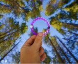 Il mio braccialetto al neon dell'edizione limitata di Lokai dell'equilibrio