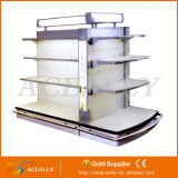 2016년 슈퍼마켓 Gondola Double 또는 Single Sided Racks Display Stands Shelving