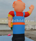 Large esterno Inflatable Old Men Models per Event, Advertizing Giant Olanda Cartoons da vendere