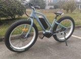 Bici eléctrica del nuevo neumático gordo de Femele con el motor de centro