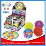 Juguete de destello de la bola de salto del juguete del cabrito con el caramelo