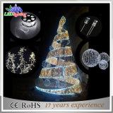 Свет рождественских елок металла высокого качества искусственний напольный освещенный