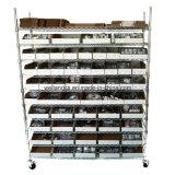 стеллаж для выставки товаров Shelving провода металла крома 800lbs для хранения пакгауза