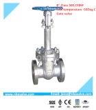Изготовление служило фланцем нормальный вентиль для завода Перу (304/LF2/WCB)