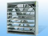 Ventilateur d'extraction fixé au mur industriel de systèmes de ventilation de garage