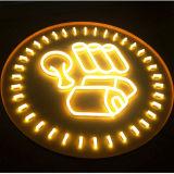 Signes extérieurs de barre de signe de lampe au néon de la mémoire DEL de restaurant