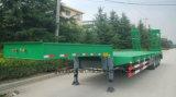 De China Cimc de la marca de fábrica tres de los árboles de la base acoplado inferior semi