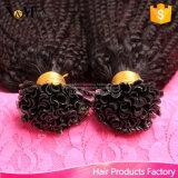 人間の毛髪の拡張U先端の実質の人間の毛髪の拡張ケラチン100の繊維のRemyの人間の毛髪の融合の拡張