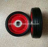 Rotella di gomma solida per la riga della barra di rotella ed il carrello della mano